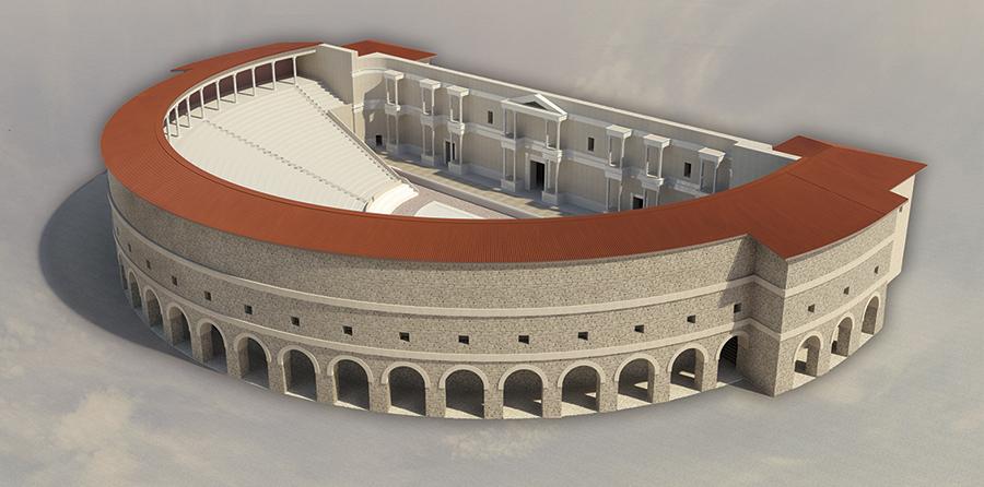 Teatro romano de Florencia