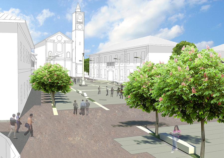 Recalificación Piazza Santa Maria Nascente